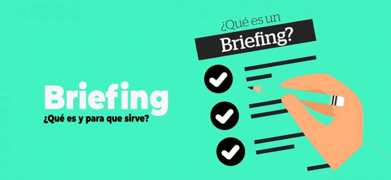 Cómo hacer un briefing